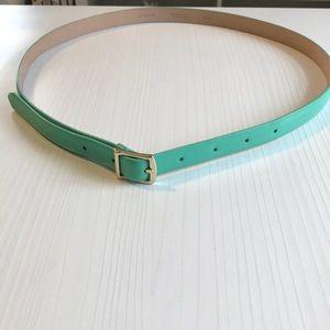 J.crew genuine leather belt
